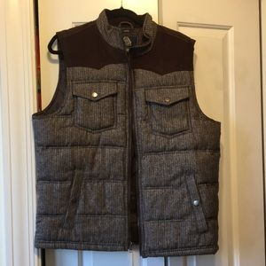 Men's American Rag brown/black vest